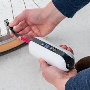 Cykelpump med tryckmätare - Smart fars dag present