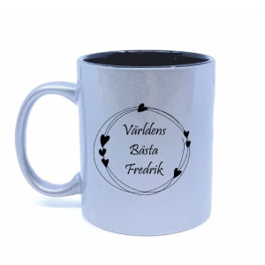 Personlig kaffemugg - Fars dag present med gravyr